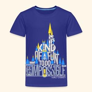 It's Kind Of Fun... - Toddler Premium T-Shirt