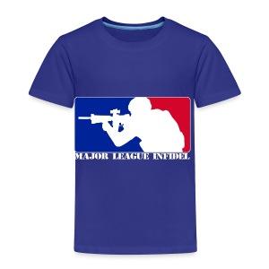 MAJOR INFIDEL - Toddler Premium T-Shirt