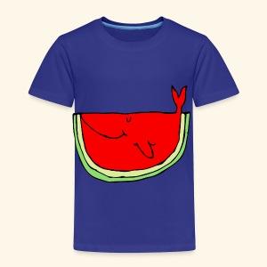Whalemelon - Toddler Premium T-Shirt