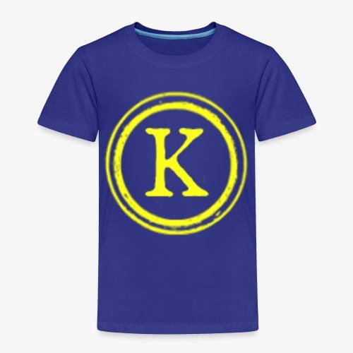 1000x1000 yellow logo - Toddler Premium T-Shirt