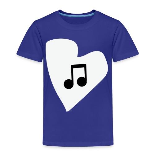 musical feeling WHITE - Toddler Premium T-Shirt