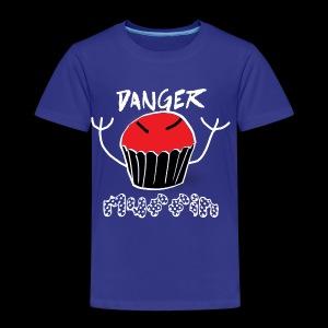 Danger Muffin - Toddler Premium T-Shirt