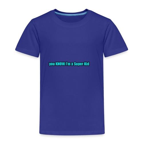 Super Kid - Toddler Premium T-Shirt