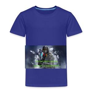 Cracked Reality Gaming Logo - Toddler Premium T-Shirt