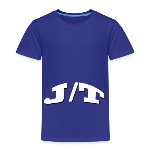 White Lettering - Toddler Premium T-Shirt