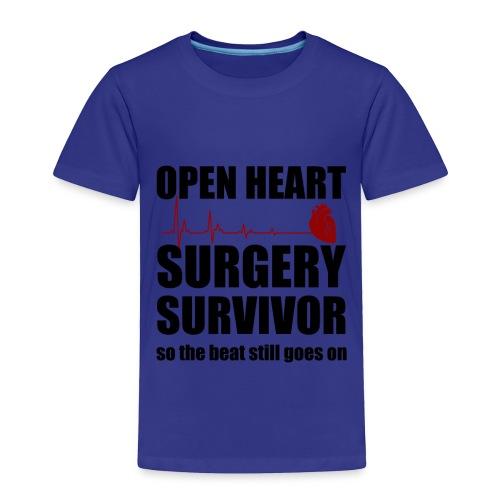 openheart surgery - Toddler Premium T-Shirt
