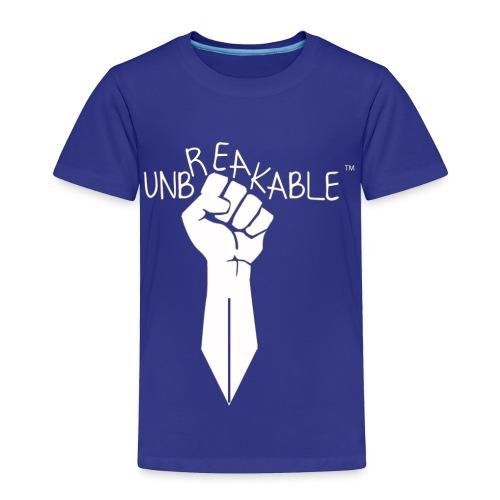 UNBREAKABLE_-TM-wht- - Toddler Premium T-Shirt
