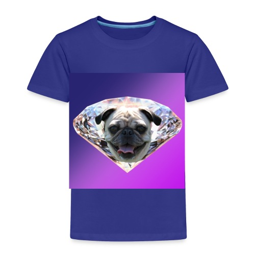Diamond Pug - Toddler Premium T-Shirt
