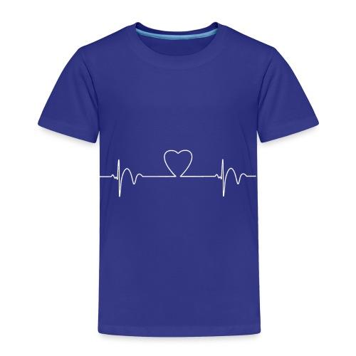 Heart Beat T-Shirt - Toddler Premium T-Shirt