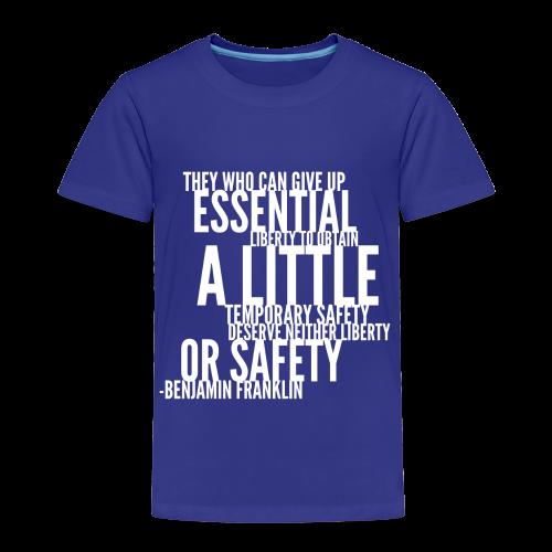 Benjamin Franklin - Toddler Premium T-Shirt