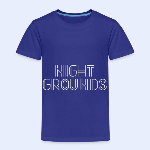 White NightGrounds Title - Toddler Premium T-Shirt