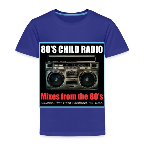 Boom Box Logo - Toddler Premium T-Shirt
