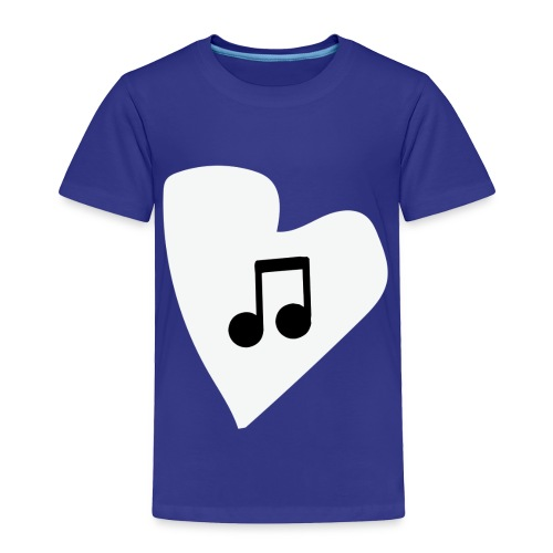 musical feeling WHITE - Toddler Premium T-Shirt