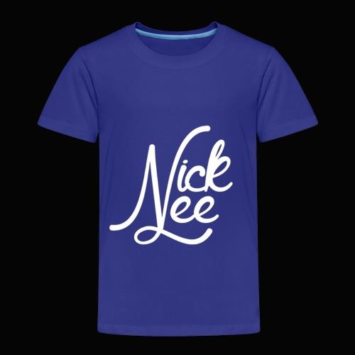 Nick Lee Logo - Toddler Premium T-Shirt
