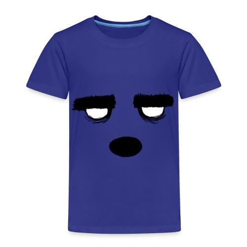 Women's Style Grumpy Bear Face - Toddler Premium T-Shirt