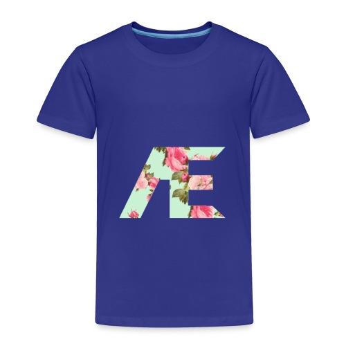 AE Floral design - Toddler Premium T-Shirt