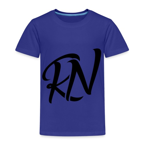 RomanNation Black (RN) - Toddler Premium T-Shirt