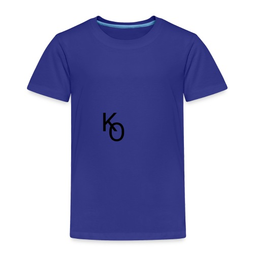 K Over The O - Toddler Premium T-Shirt