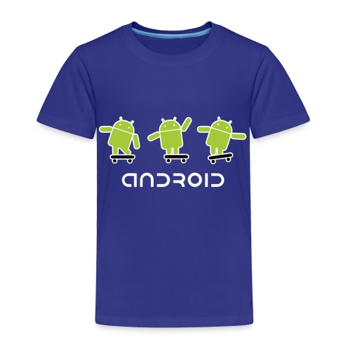 android logo T shirt - Toddler Premium T-Shirt