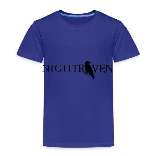 Night Raven Official Gear - Toddler Premium T-Shirt
