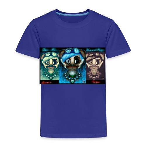 dan the diamond dog dantdm fnaf crossover by cin - Toddler Premium T-Shirt