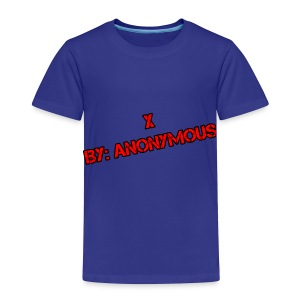 X - Toddler Premium T-Shirt