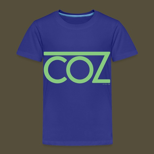 coz_logo_lightgreen - Toddler Premium T-Shirt