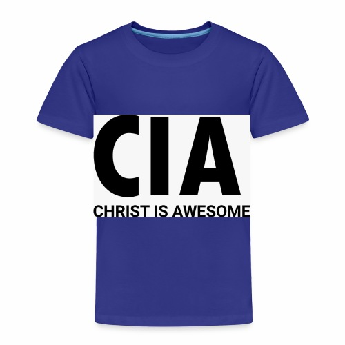 Christ Is Awesome - Toddler Premium T-Shirt
