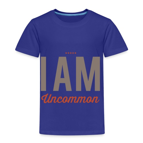 I Am Uncommon - Toddler Premium T-Shirt
