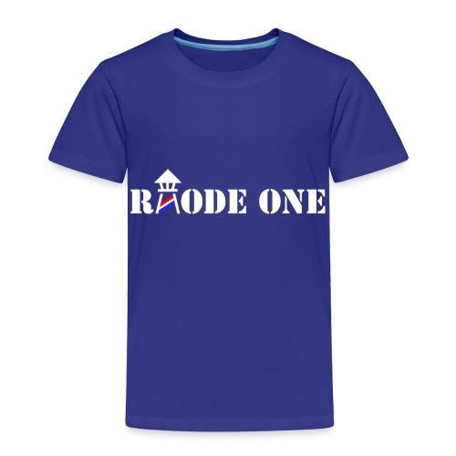 Rhode One logo - Toddler Premium T-Shirt