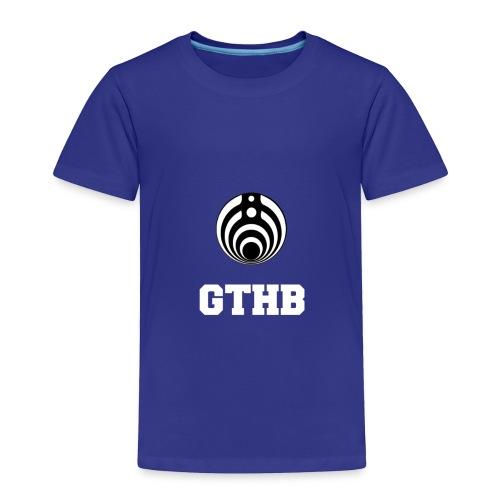 GTHB w/ LOGO - Toddler Premium T-Shirt