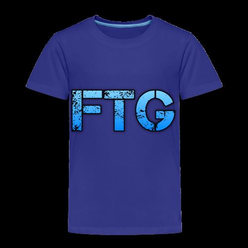 blue logo - Toddler Premium T-Shirt