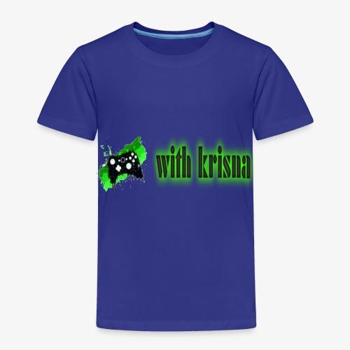 gaming with krisna merch - Toddler Premium T-Shirt