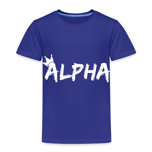 Alpha - Toddler Premium T-Shirt