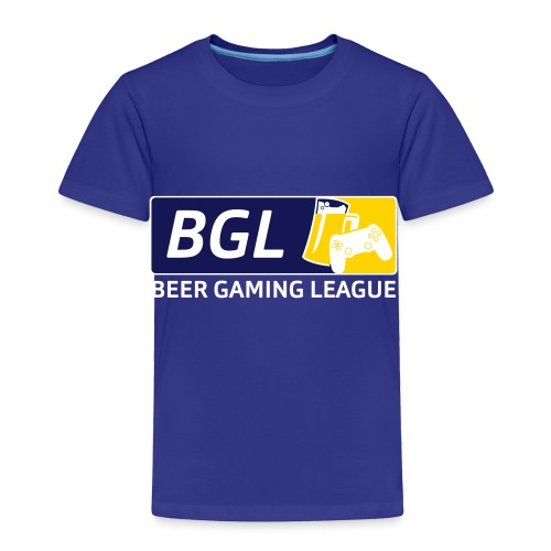 Mens Official Beer Gaming League Shirt - Toddler Premium T-Shirt