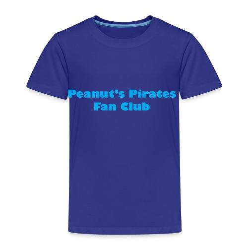 Peanut's Pirates Fan Club - Toddler Premium T-Shirt