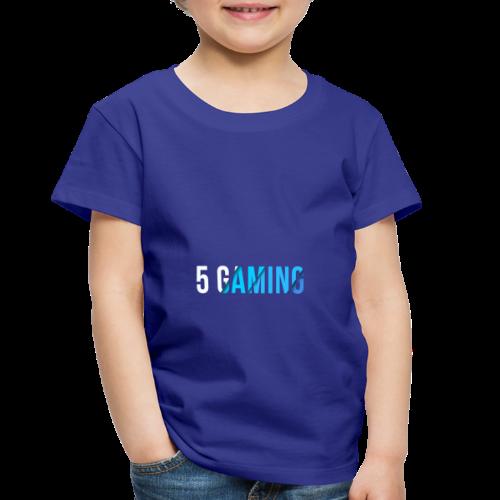 5 Gaming Blue - Toddler Premium T-Shirt