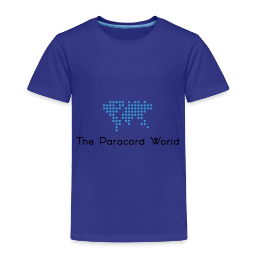 The Paracord World's Logo - Toddler Premium T-Shirt