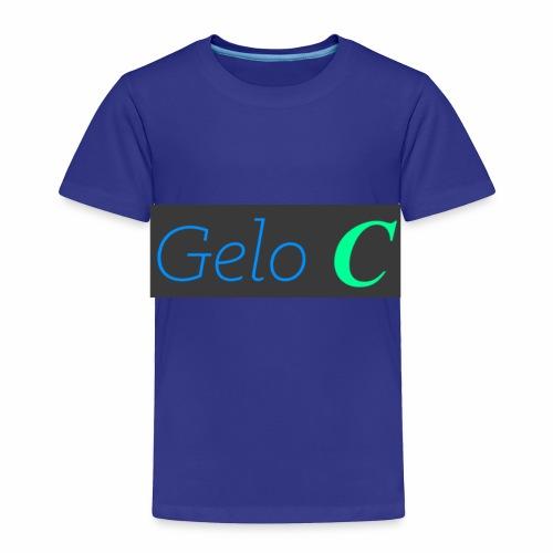 GeloC Rectangle Gray Logo - Toddler Premium T-Shirt