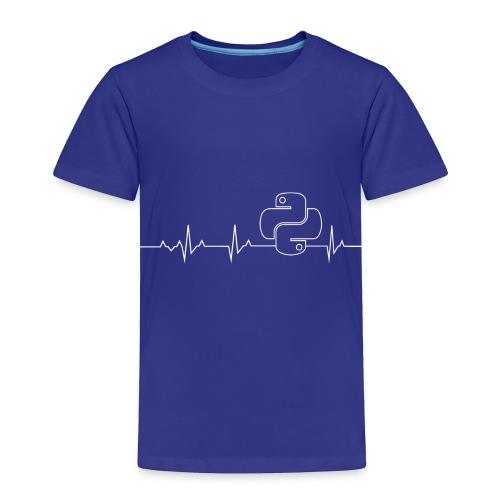 Python Heartbeat T-shirt Hoodie - Toddler Premium T-Shirt