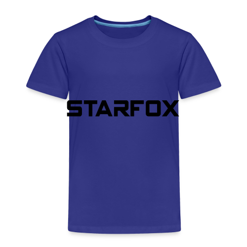STARFOX Text - Toddler Premium T-Shirt