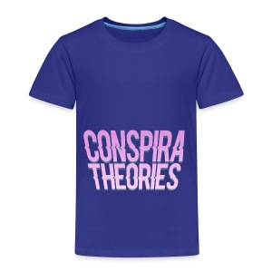 Women's - ConspiraTheories Official T-Shirt - Toddler Premium T-Shirt