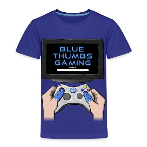 Blue Thumbs Gaming: Gamepad Logo - Toddler Premium T-Shirt
