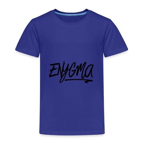 Enygma Black Original - Toddler Premium T-Shirt