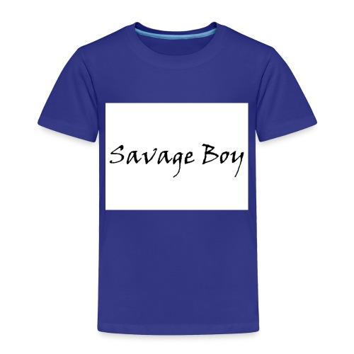 Savage Boy - Toddler Premium T-Shirt