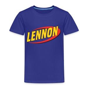 lennon playtime - Toddler Premium T-Shirt