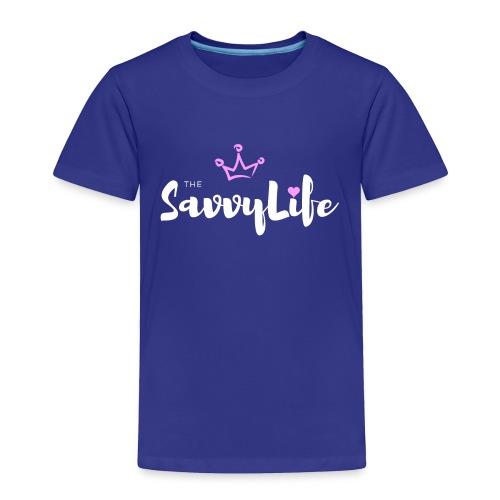 The Savvy Life - Toddler Premium T-Shirt
