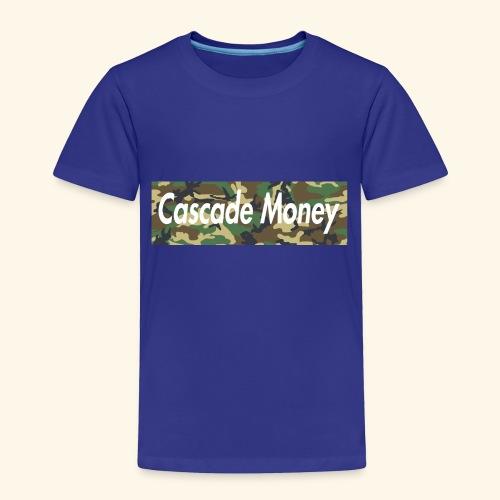 Cascade money camo - Toddler Premium T-Shirt