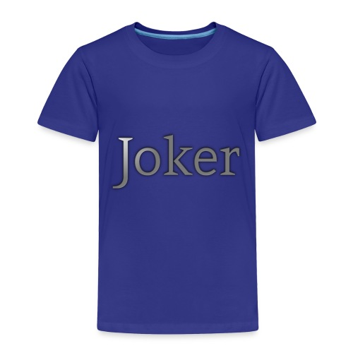 joker Apperal - Toddler Premium T-Shirt