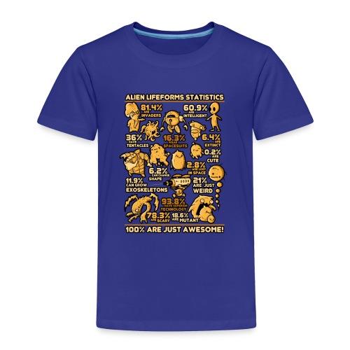 Alien Statistics - Toddler Premium T-Shirt